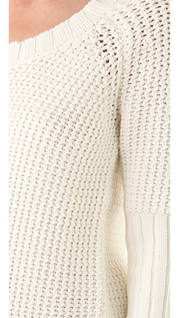 Derek Lam 10 Crosby U Neck Sweater