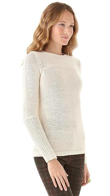 Derek Lam 10 Crosby Chunky Crew Neck Sweater