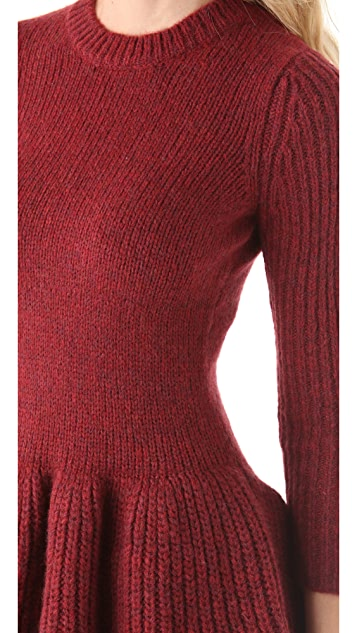 Derek Lam 10 Crosby Peplum Sweater