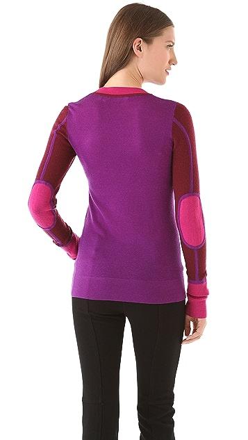 Derek Lam 10 Crosby Colorblock U Sweater