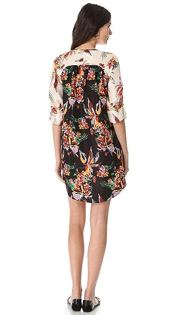 Derek Lam 10 Crosby Floral Tunic Dress