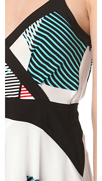 Derek Lam 10 Crosby Crisscross Dress