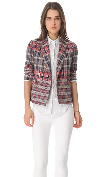 Derek Lam 10 Crosby Double Breasted Jacket