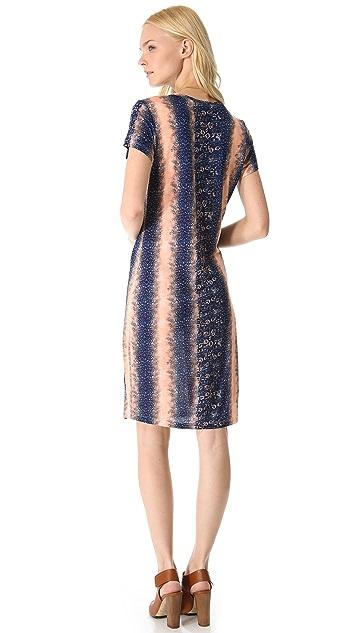 Derek Lam 10 Crosby Lizard Jersey Tee Dress