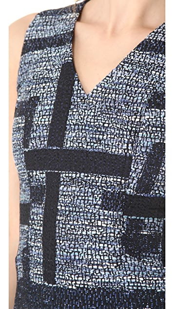 Derek Lam 10 Crosby Tweed Tulip Dress