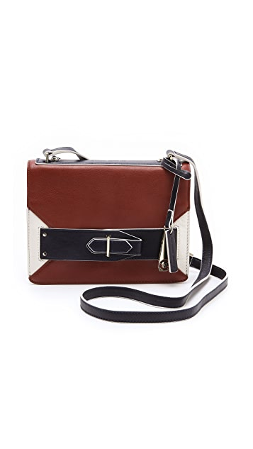Derek Lam 10 Crosby Colorblock Folio Mini Bag