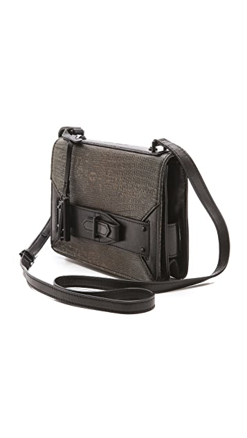 Derek Lam 10 Crosby Ombre Lizard Mini Bag