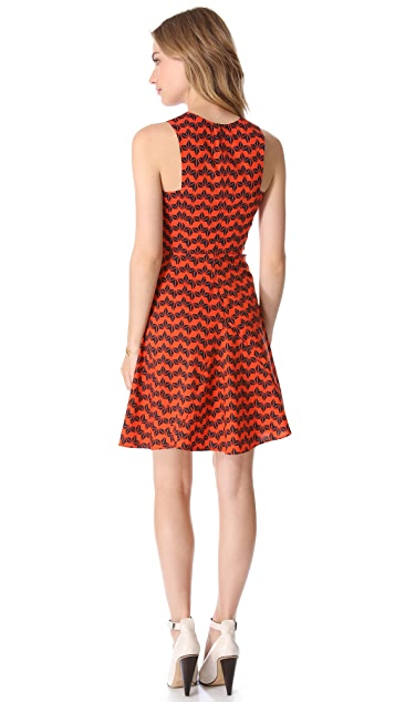 Derek Lam 10 Crosby Sleeveless Godet Dress