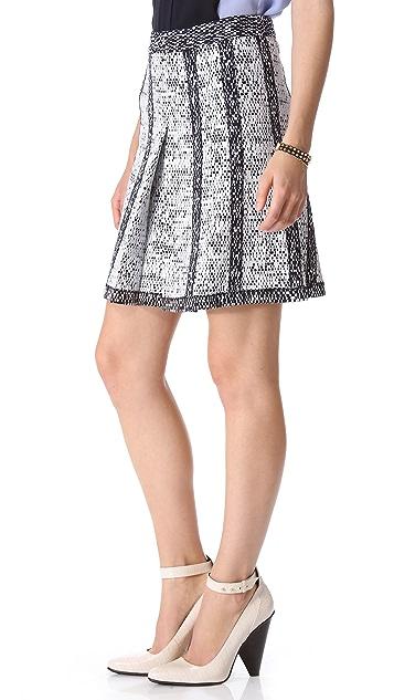 Derek Lam 10 Crosby Inverted Pleat Skirt