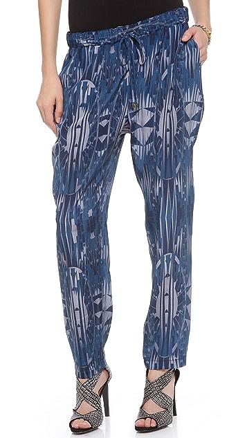 Derek Lam 10 Crosby Drawstring Tapered Pants