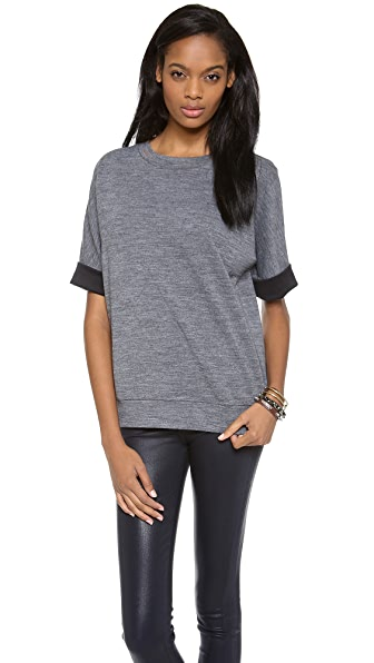 Derek Lam 10 Crosby Oversized Top