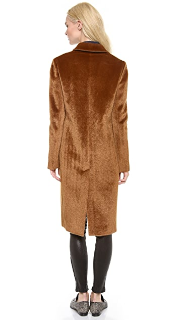 Derek Lam 10 Crosby Faux Haircalf Coat