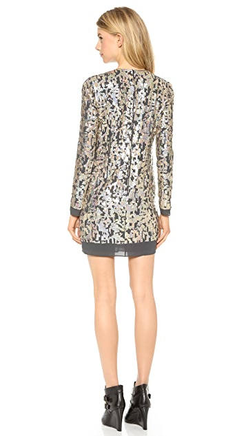 Derek Lam 10 Crosby Sequin Dress