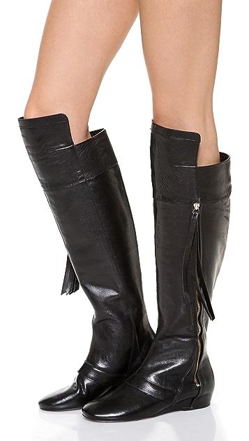 Derek Lam 10 Crosby Loden Cuff Tall Boots