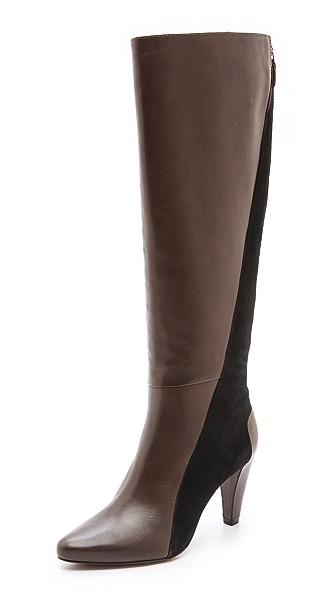 Derek Lam 10 Crosby Sammie Two Tone Tall Boots
