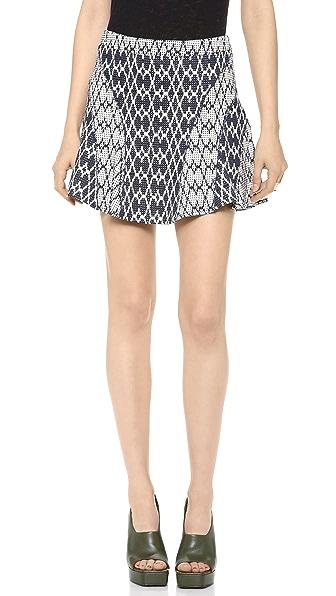 Derek Lam 10 Crosby Flare Skirt