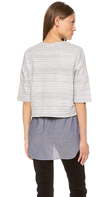 Derek Lam 10 Crosby 2 in 1 Combo Sweater Tunic
