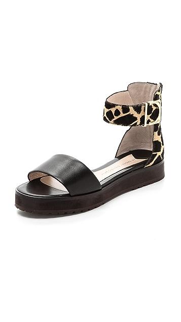 Derek Lam 10 Crosby Dyls Flat Sandals