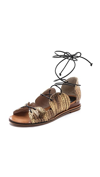 Derek Lam 10 Crosby Penny Lace Up Sandals