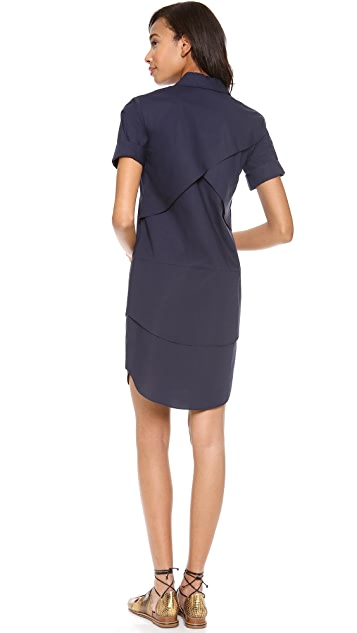 Derek Lam 10 Crosby Poplin Shirtdress