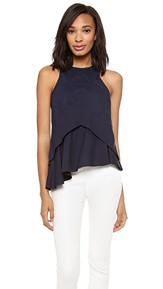 Derek Lam 10 Crosby Seamed Shell Top