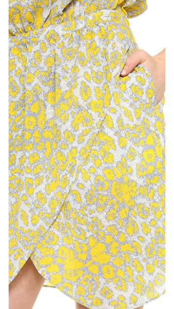 Derek Lam 10 Crosby Drawstring Waist Dress