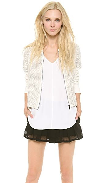 Derek Lam 10 Crosby Rounded Jacket
