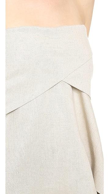 Derek Lam 10 Crosby Strapless Tunic Top