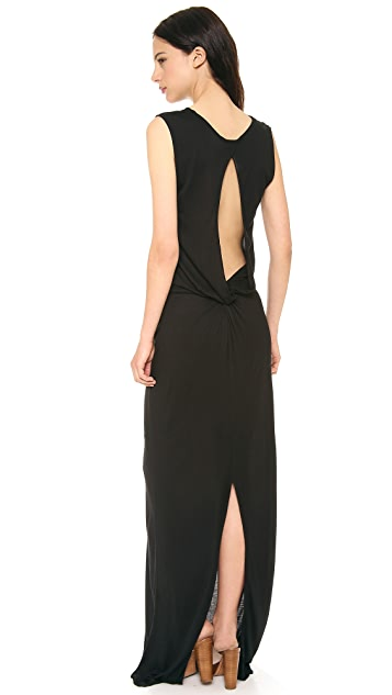 Derek Lam 10 Crosby Knit Back Maxi Dress