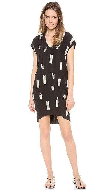 Derek Lam 10 Crosby Chevron Embellished Dress
