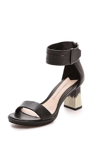 Derek Lam 10 Crosby Marcel Block Heel Sandals