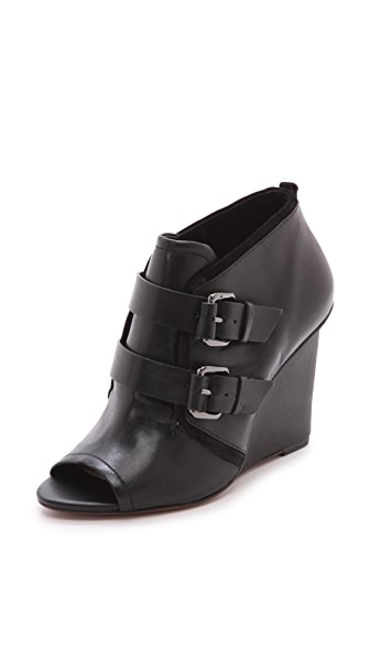 Derek Lam 10 Crosby Zale Open Toe Booties