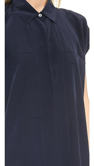 Derek Lam 10 Crosby Two Pocket Maxi Dress