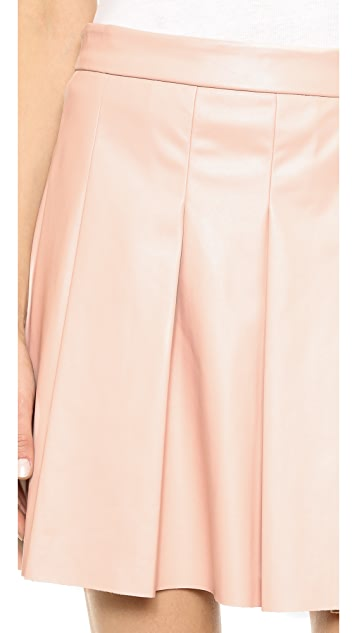 Derek Lam 10 Crosby Box Pleat Skirt