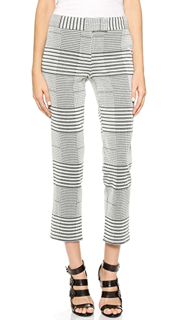 Derek Lam 10 Crosby Cropped Trousers