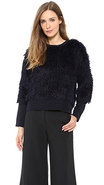 Derek Lam 10 Crosby Mohair Sweater