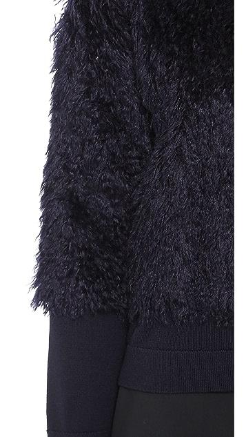 Derek Lam 10 Crosby Mohair Sweater