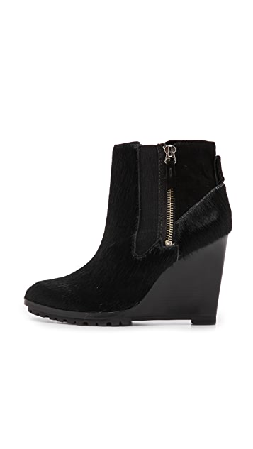 Derek Lam 10 Crosby Kaley Wedge Booties