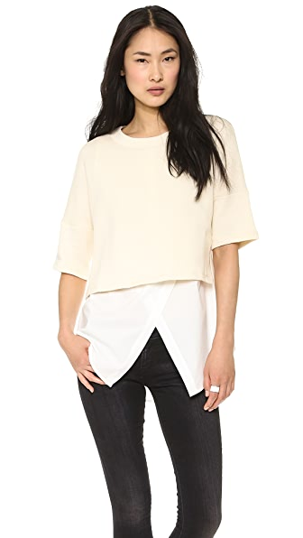 Derek Lam 10 Crosby 2 in 1 Combo Top