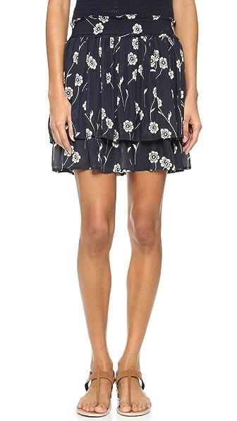 Derek Lam 10 Crosby Flounce Miniskirt