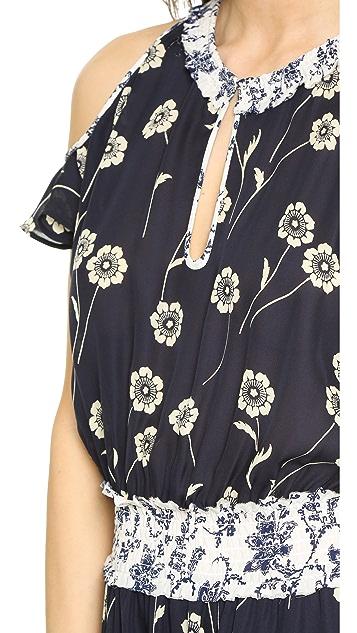 Derek Lam 10 Crosby Cold Shoulder Dress