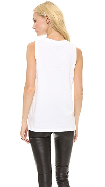 Etre Cecile French Fury Flock Tank