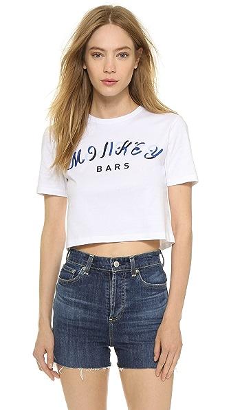 Etre Cecile Monkey Bars Crop T-Shirt