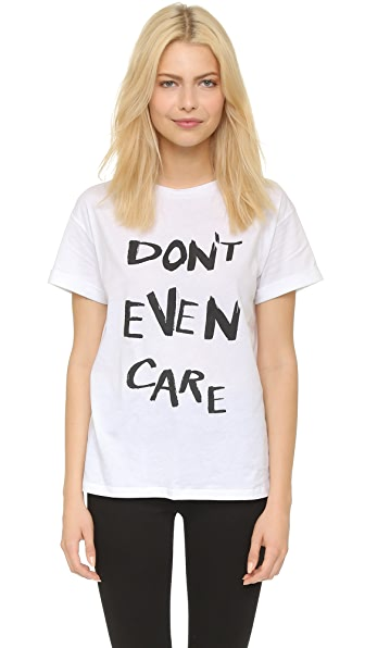 Etre Cecile Don't Even Care Oversize T-Shirt