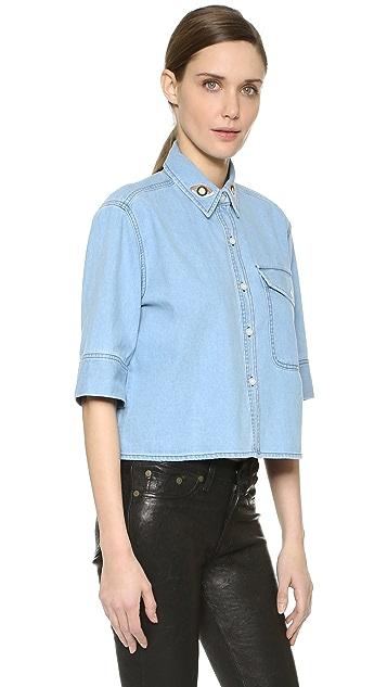 Etre Cecile La Vie Parisienne Crop Shirt
