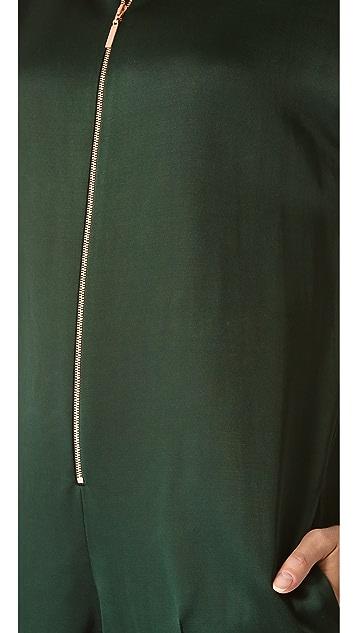 Cedric Charlier Zip Front Jumpsuit