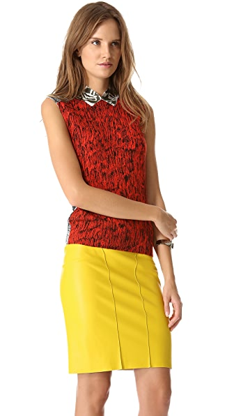 Cedric Charlier Sleeveless Top