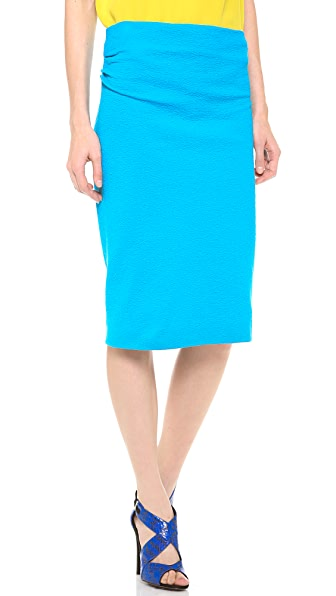 Cedric Charlier Jersey Pencil Skirt