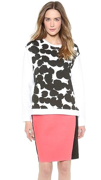 Cedric Charlier Printed Sweatshirt