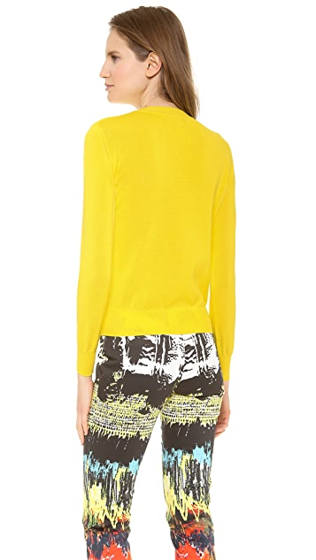 Cedric Charlier Shadow Stripe Sweater